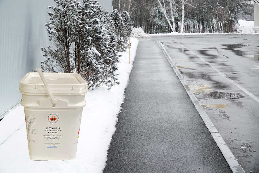 ice melter for sidewalks and walkways
